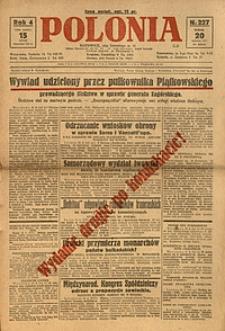 Polonia, 1927, R. 4, nr 227