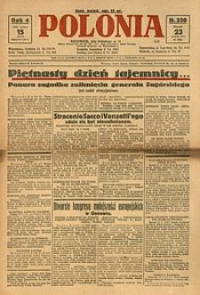 Polonia, 1927, R. 4, nr 230