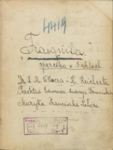 Frasquita. Operetka w 3 aktach