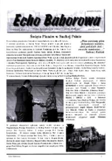 Echo Baborowa : pismo mieszkańców miasta i gminy Baborów 2018, nr 5.