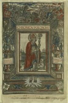 Chronica Polonorv[m] / [Mathiae de Mechovia].
