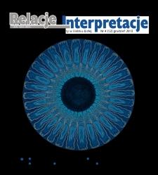 Relacje-Interpretacje, 2018, nr4 (52)