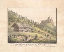 Das Schweitzer-Haus an den Falken-Bergen welches Sr. Königl. Hoheit der Prinz Wilhelm v. Preussen im Jahre 1823 erbauen liess