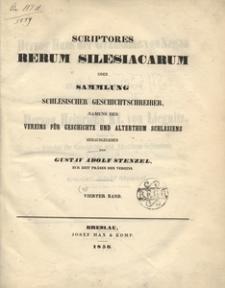Scriptores rerum silesiacarum oder Sammlung schlesischer Geschichtschreiber. Bd. 4, Herzog Hans der Grausame von Sagan im Jahre 1488 und Hans Schweinichens Leben Herzog Heinrichs XI. von Liegnitz