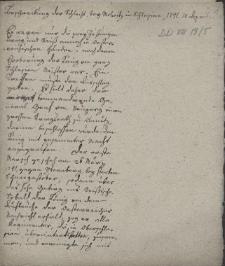Beschreibung der Schlacht bei Molwitz in Schlesien 1741. 10 April