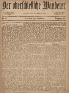 Der Oberschlesische Wanderer, 1879, Jg. 51, Nr. 2