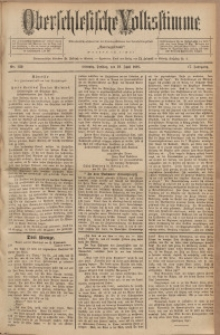 Oberschlesische Volksstimme, 1891, Jg. 17, Nr. 130