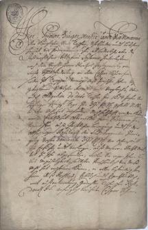 Dokumenty i odpisy dokumentów dotyczących cieszyńskiej rezydencji jezuitów