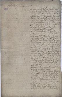 Prośba członków magistratu miasta Cieszyna do Gubernium Morawsko-śląskiego w Brnie z 31.10.1813 r. o uregulowanie wynagrodzenia ze względu na ich obciążenie sprawami sądu kryminalnego