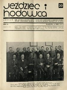 Jeździec i Hodowca, R. 15 (1936), Nry 20-27