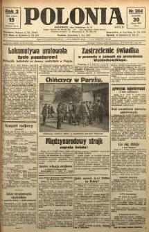 Polonia, 1925, R. 2, nr 204