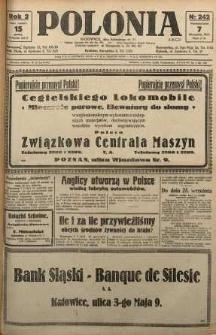 Polonia, 1925, R. 2, nr 242