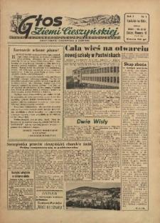 Głos Ziemi Cieszyńskiej, 1955, Nry 1-6/7