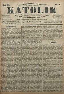 Katolik, 1911, R. 44, nr 9