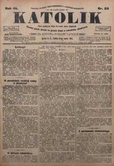 Katolik, 1911, R. 44, nr 33