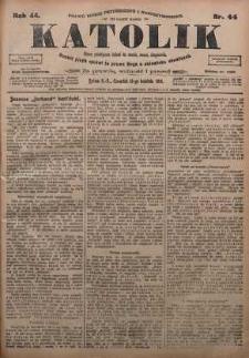 Katolik, 1911, R. 44, nr 44