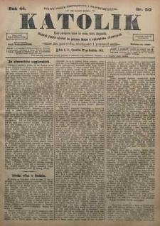 Katolik, 1911, R. 44, nr 50
