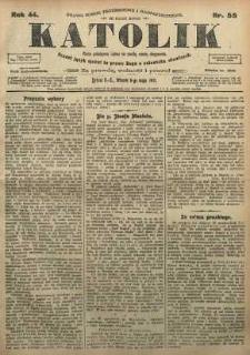 Katolik, 1911, R. 44, nr 55