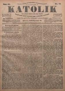 Katolik, 1911, R. 44, nr 71