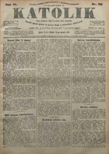 Katolik, 1911, R. 44, nr 96