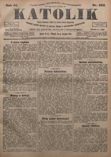 Katolik, 1911, R. 44, nr 103