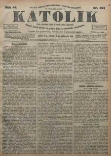 Katolik, 1911, R. 44, nr 121