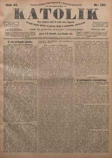 Katolik, 1911, R. 44, nr 131