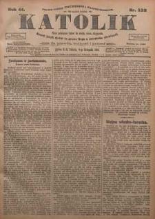Katolik, 1911, R. 44, nr 132