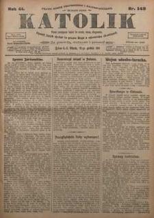 Katolik, 1911, R. 44, nr 148