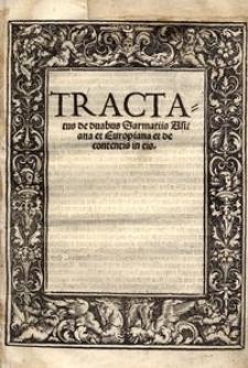 Tractatus de duabus Sarmatiis asiana et europiana et de contentis in eis