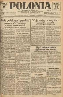 Polonia, 1925, R. 2, nr 287