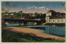 Teschen. Olsabrücke = Cieszyn. Most