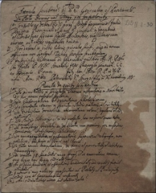 Formula scribendi ad P.P. Generalem et Provincialem