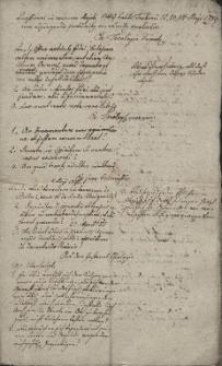 Quaestionis in concursu habito Teschinii 12, 13, 14 Maji 1789 cum adjungendis proba[ti]onibus seu ra[ti]onibus resolvendae