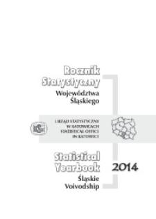 Rocznik Statystyczny Województwa Śląskiego, 2014