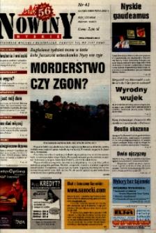 Nowiny Nyskie 2002, nr 41.