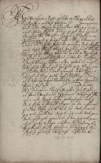 Konfirmacja przez księcia cieszyńskiego Wacława III Adama 26.10.1566 r. aktu kupna przez pana Wacława Cygana ze Słupska od Jerzego Frölicha placu pod budowę domu koło klasztoru dominikanów