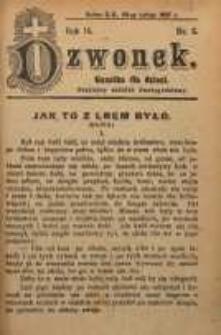 Dzwonek, 1907, R. 14, nr 5