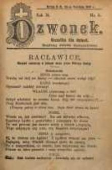 Dzwonek, 1907, R. 14, nr 9