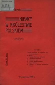 Niemcy w Królestwie Polskiem