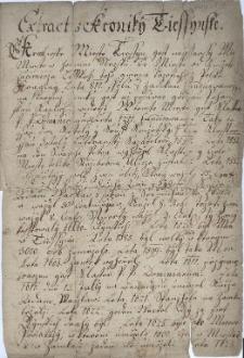 Extract z Kroniky Tiessynske