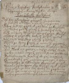 Placz a Narzykani Predykantuw ze Slonska wygnanych w Namyslowskim kragu