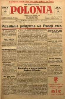 Polonia, 1929, R. 6, nr 4