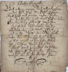 Odpis luterańskiego i antyluterańskiego paszkwilu z Gdańska