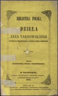 Consilium rationis bellicae Jana Tarnowskiego