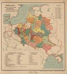 Polska w XVIII w. podział administracyjny