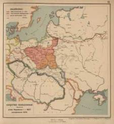 Księstwo Warszawskie utworzone przez Napoleona I. r. 1807 powiększone 1809