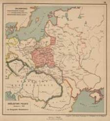 Królestwo Polskie utworzone r. 1815 na Kongresie Wiedeńskim
