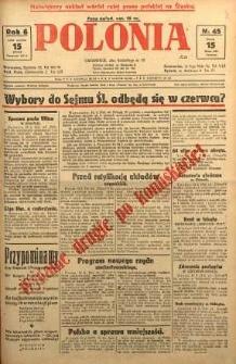 Polonia, 1929, R. 6, nr 45