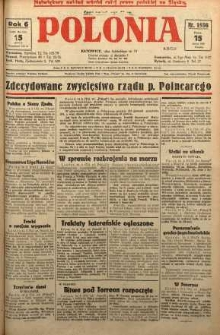 Polonia, 1929, R. 6, nr 1596